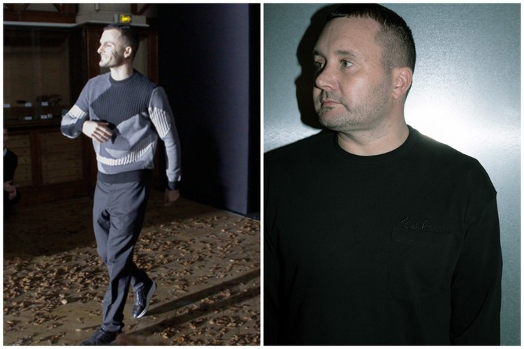 左)クリス・ヴァン・アッシュ、右)キム・ジョーンズ