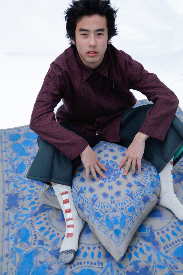 direction:Souta Yamaguchi,  model:HIMI, photo:Harumi Obama, hair:KUNIO KOHZAKI