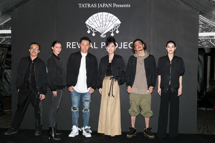 (左から)レスリー・キー、土屋アンナ、北島康介、とよた真帆、窪塚洋介、国木田彩良