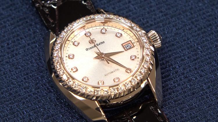 セイコーが開発した女性向けの高級時計