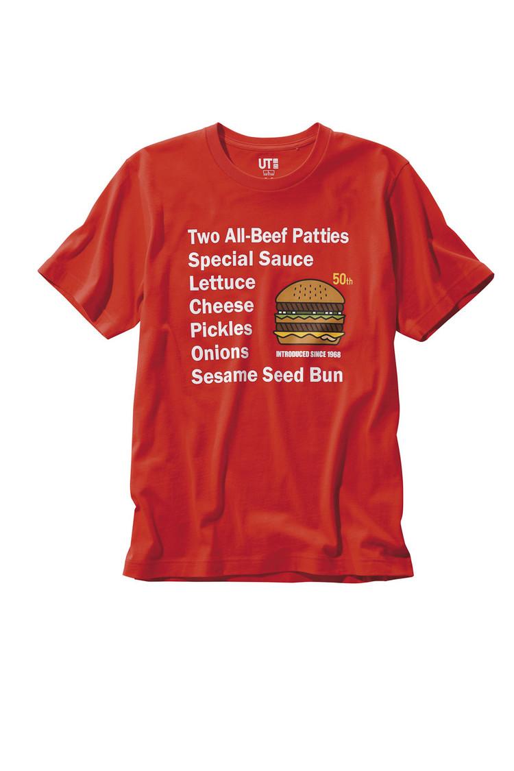 ビッグマック 50周年記念クーポンTシャツ