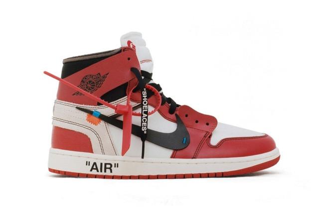 ヴァージル・アブローが手掛けたAir Jordan 1が再販の画像