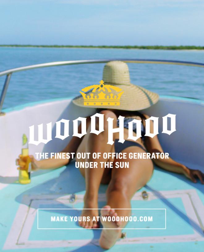 ポジティブに休暇を過ごすジェネレーターツール「WOOOHOOO」に注目の画像