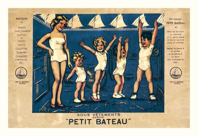プチバトー 1920/1930年の広告