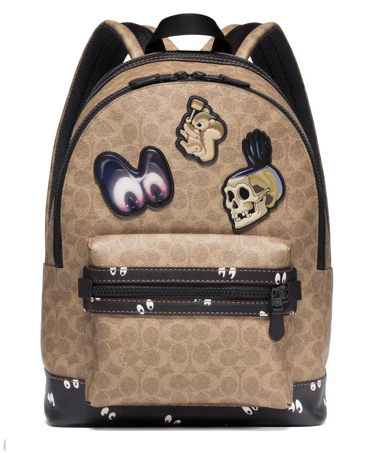 Coach x Disney「アカデミー バックパック スプーキー アイズ プリント」(税別9万2,000円)