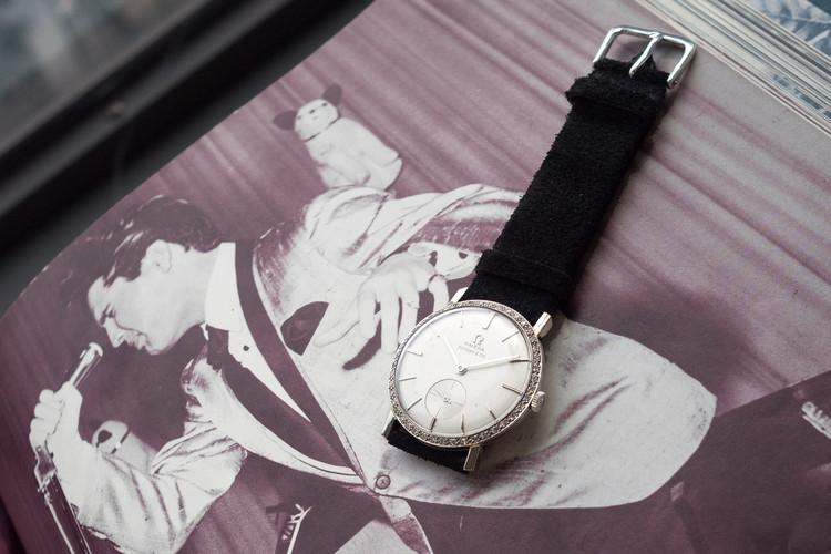 オメガの時計の過去最高額となる約1.6億円で落札されたエルヴィス・プレスリーの時計