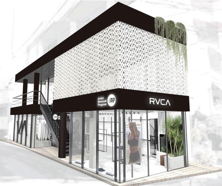 RVCA SHIBUYA パース画像