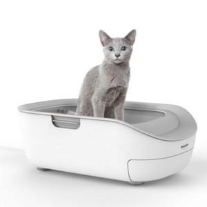 シャープがネコ用のスマートトイレを発売