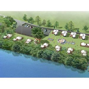 温泉も楽しめるグランピング施設が伊豆・月ヶ瀬に