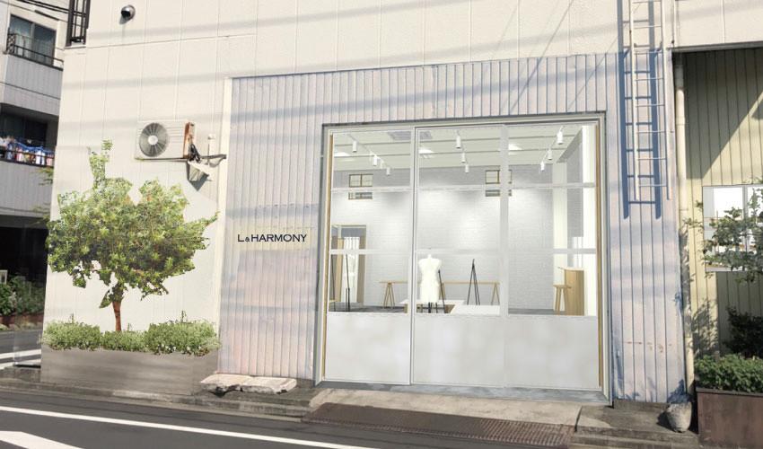 「L&HARMONY 清澄白河本店」店舗イメージ