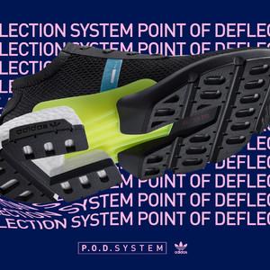 アディダスが3つのテクノロジーを融合した新作モデル「P.O.D.System」を発売