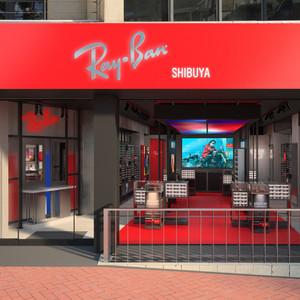 レイバン日本初の直営店を渋谷に出店、900種以上のフルラインナップ