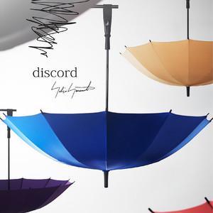 「ディスコード ヨウジヤマモト」水滴を弾く音が特徴的な傘シリーズ発売