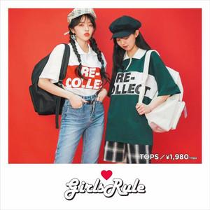 日本初、韓国の通販ブランド「girlsRule」がスピンズに登場