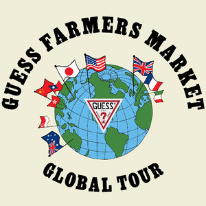 ゲスの「ファーマーズマーケット」コレクションが世界各国で発売