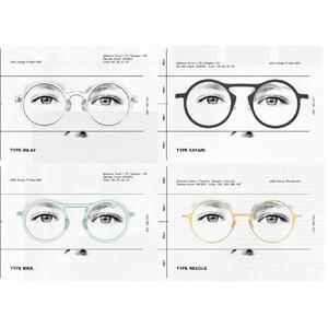 ジンズがコンスタンティン・グルチッチと協業したラウンド型眼鏡32種を発売