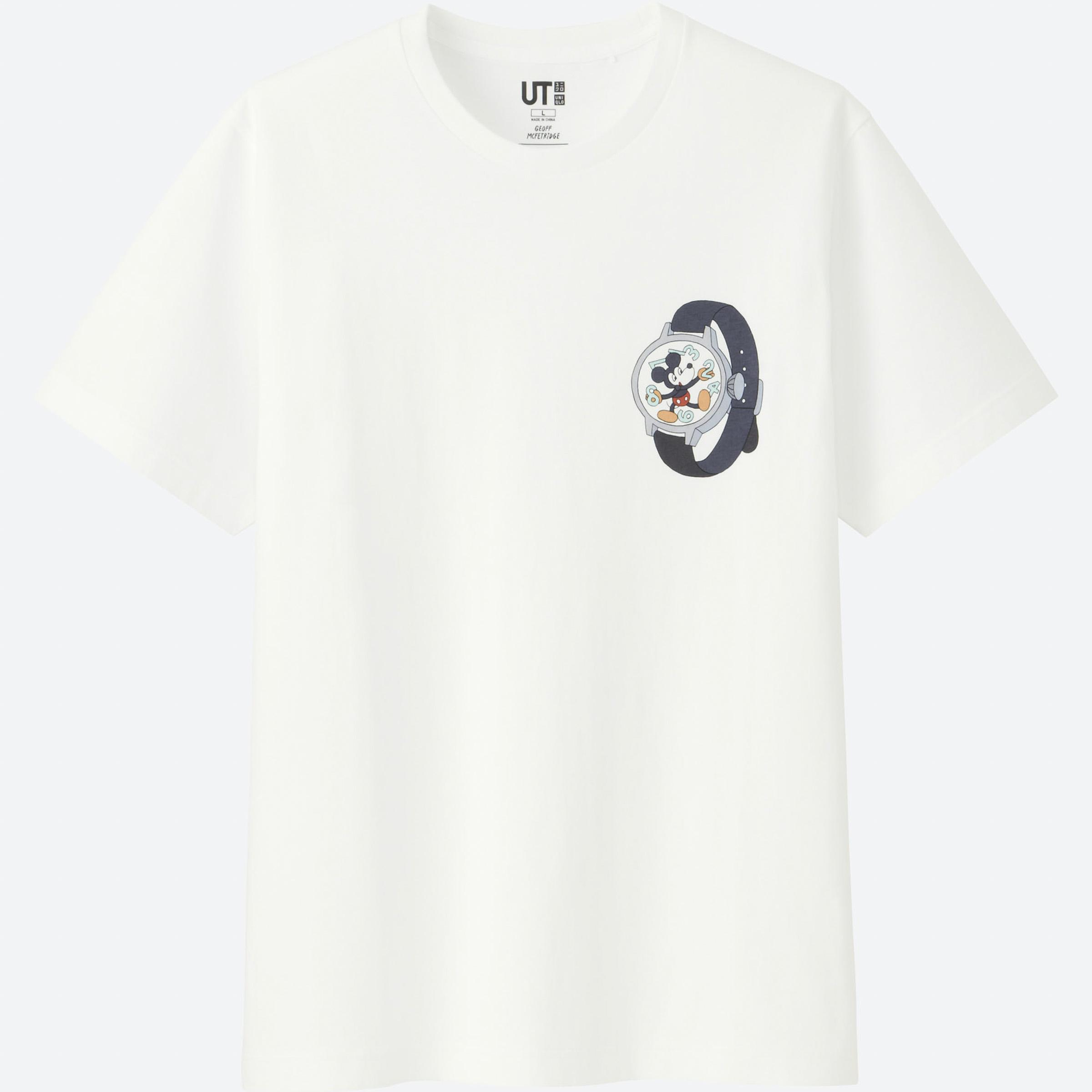 ut ミッキーマウス 長場雄ら6人のアーティストがデザインした新作発売