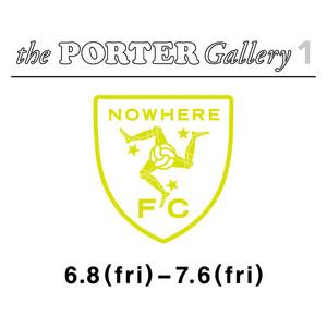 シュプリーム出身者のフットボールクラブ「NOWHERE FC」がポーターでイベント開催