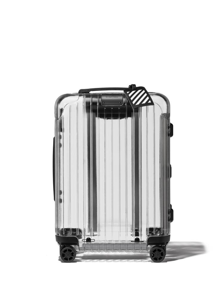 リモワ×オフ-ホワイトのコラボスーツケース(予価税別13万円)