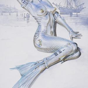 「セクシーロボット」で知られる空山基の新作個展がNANZUKAで開催
