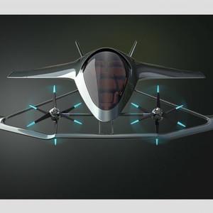 アストンマーティンが空飛ぶ車のコンセプトを発表