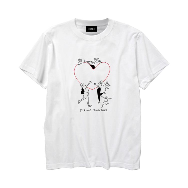 Yu Nagaba ✕ BEAMS チャリティーTシャツ