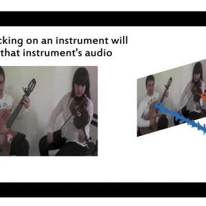 映像から特定の楽器音を抽出できるAIシステム開発