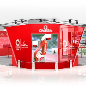 歴代機器を展示、オメガがオリンピックがテーマのイベント開催