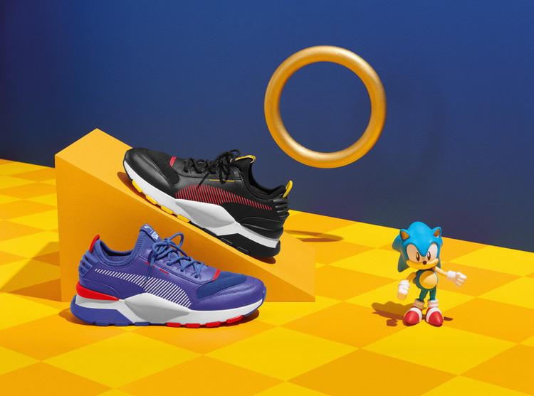 (手前から)RS-0 x SEGA Sonic、RS-0 x SEGA Dr.Eggman