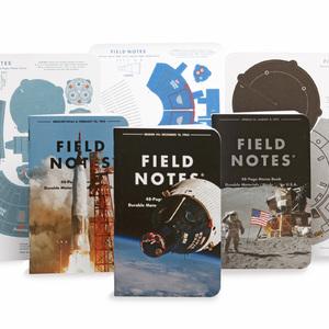 宇宙開発計画がテーマ「FIELD NOTES」の限定ステーショナリー発売