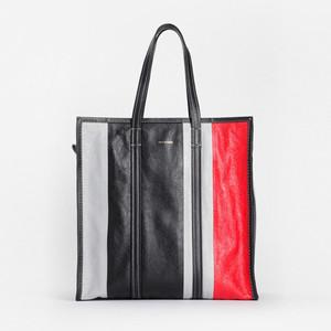 バレンシアガ、3色デザインで彩るレザートートバッグ発売