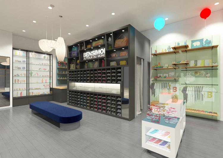 「BENSIMON AUTOUR DU MONDE」店舗イメージ