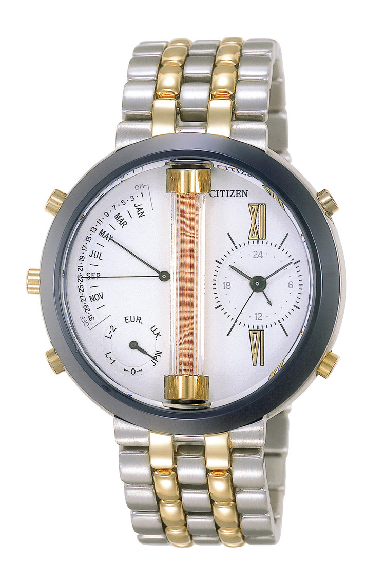 シチズン電波時計「Cal.7400」