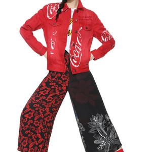 デシグアル×コカ・コーラ、コラボアイテム全7型発売