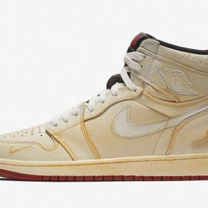 ユーズド加工を施した「Air Jordan 1」の国内発売日決定