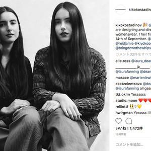 キコ・コスタディノフが初のウィメンズ発表、双子の姉妹がデザイン