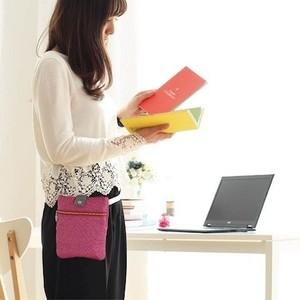 働く女性に人気、機能的なポシェット「ポケットプラス」好調