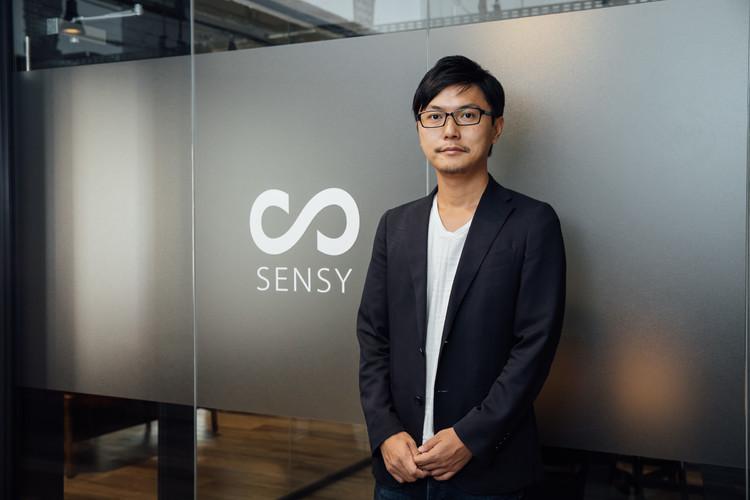 「SENSY」の代表取締役CEO、渡辺祐樹氏