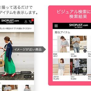ショップリストがAIを活用した画像検索機能導入、類似アイテムを提案
