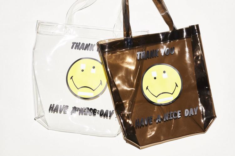 Mr.Confused PVC Tote Bag 2色