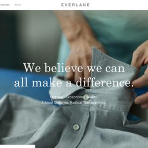 米EC専門ブランド「エバーレーン」日本含む38ヶ国への発送開始