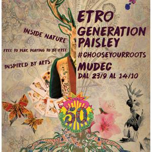 エトロ創業50周年記念「ジェネレーション・ペイズリー」展がミラノで開催
