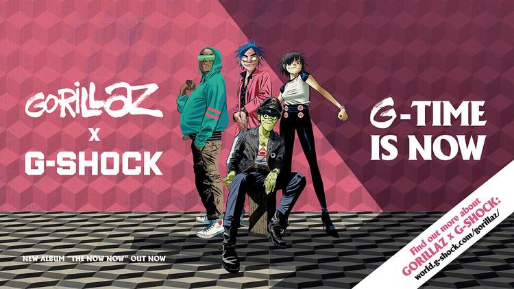 Gorillaz × G-SHOCK