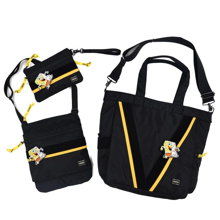 スポンジ ボブ シークレットベース ポーター 3型のバッグを限定発売