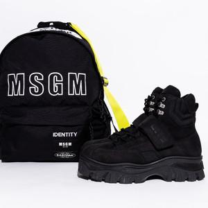 「MSGMでビッグに行こう」2018AW靴バッグ型録 -Vol.72
