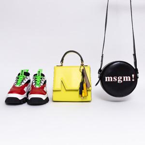 """「声に出して言いたい""""MSGM!""""」2018AW靴バッグ型録 -Vol.71"""