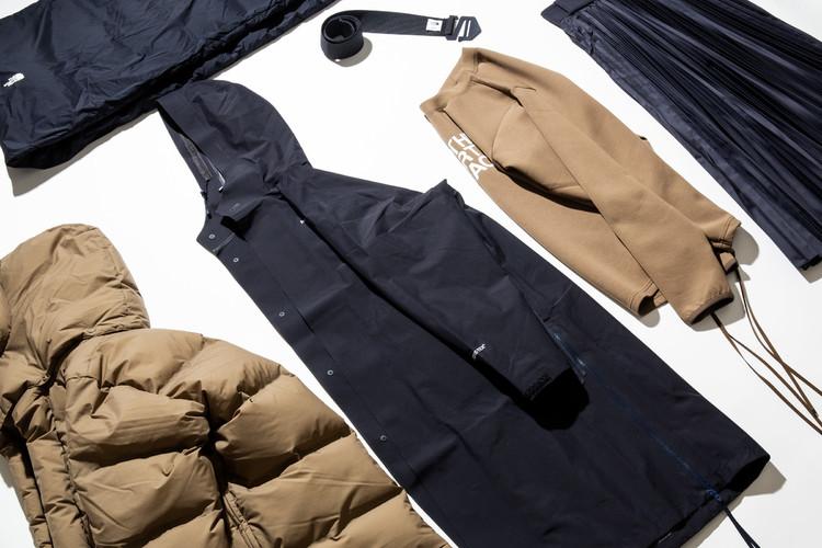 「ザ・ノース・フェイス × ハイク」の2018年秋冬コレクション購入品