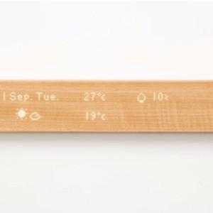 ホームデバイスを一括管理できる木材タッチパネル「mui」に注目