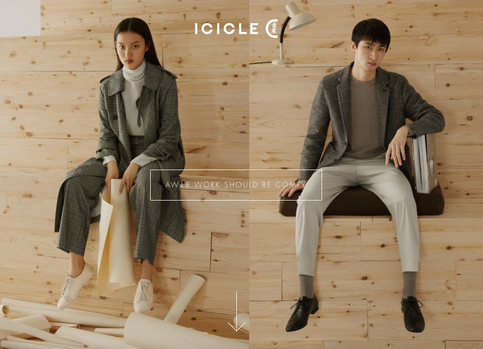 ICICLE FASHION GROUPの公式サイトより