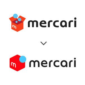 メルカリがロゴデザイン変更、シンプルでヴィヴィッドに